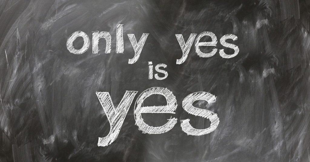 """có phải chỉ có """"Yes"""" là """"yes"""" không ?"""