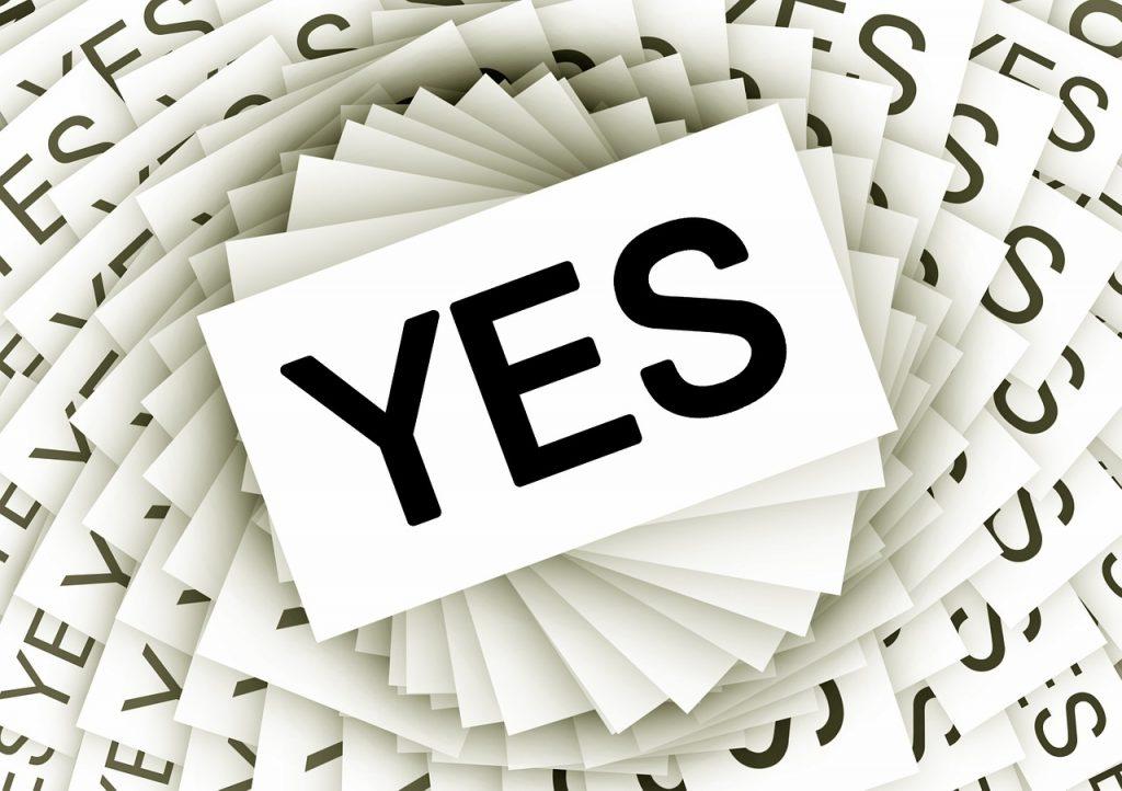 Từ Yes và từ thay thế trong tiếng Anh